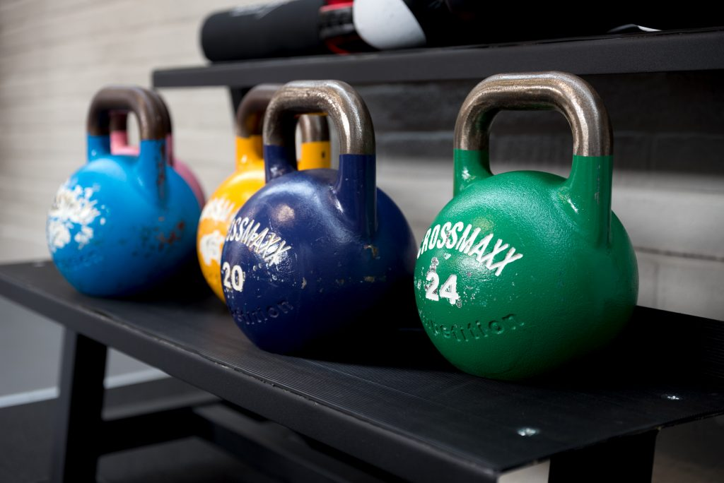 MM Personal Training Studio kettlbells